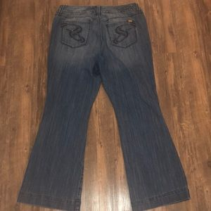 """Seven 7 """"Luxe"""" Jeans Size 20"""